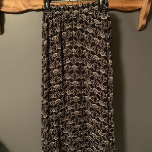 Old Navy Patterned Long Skirt